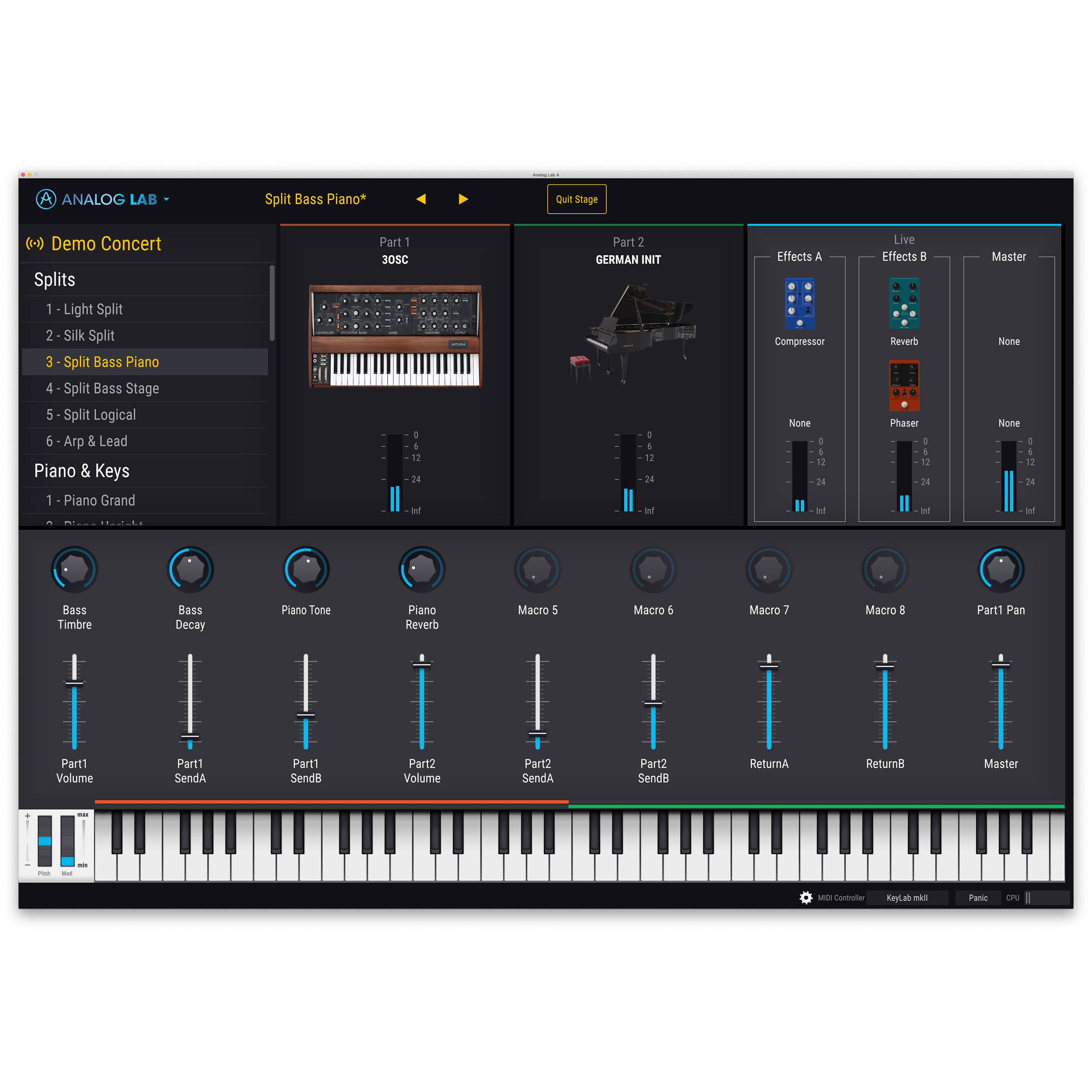 Arturia V Collection 7 - Software Synth Bundle 220801_DOWN B&H