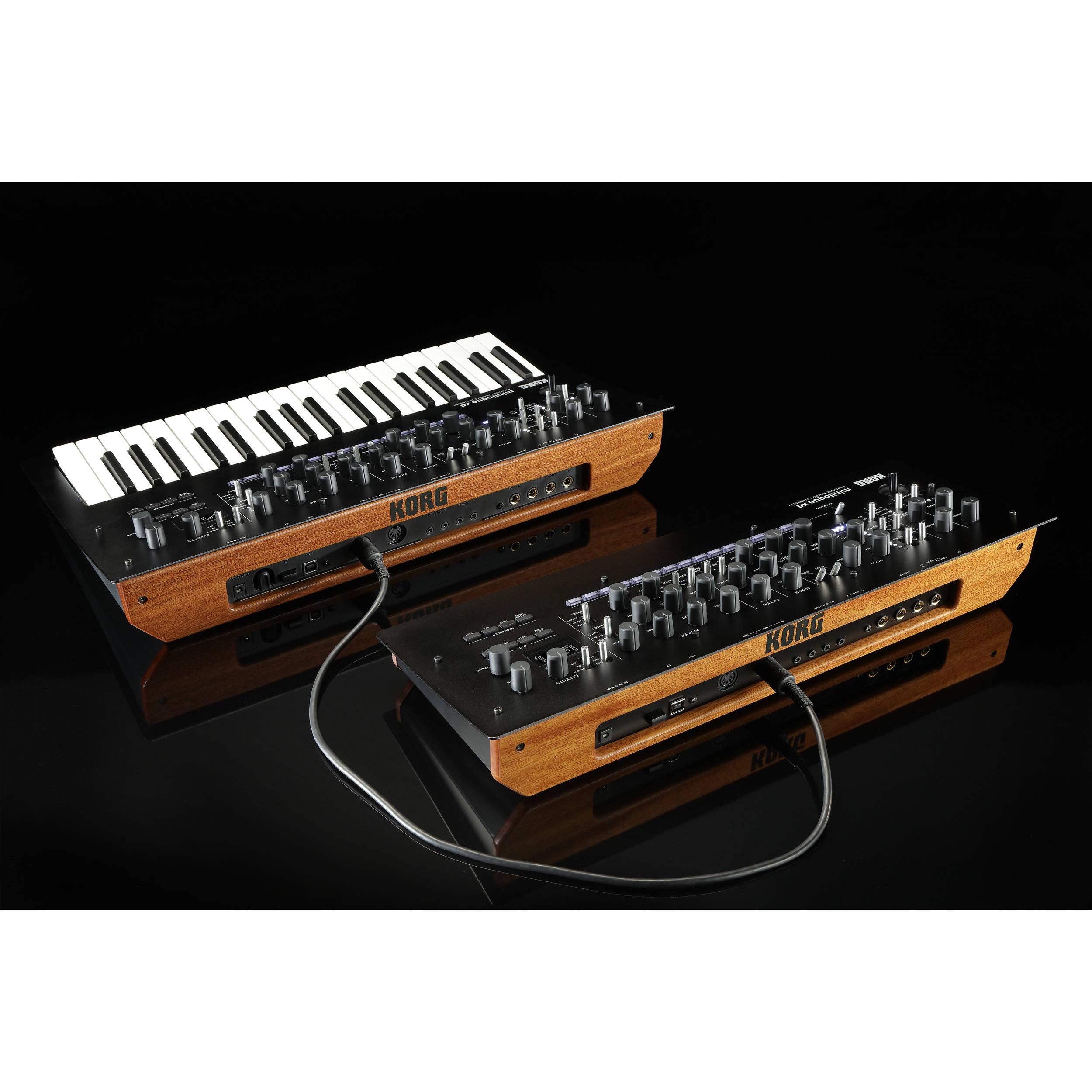 Korg minilogue xd module - Polyphonic Analog Synthesizer Desktop Module  (4-Voice)