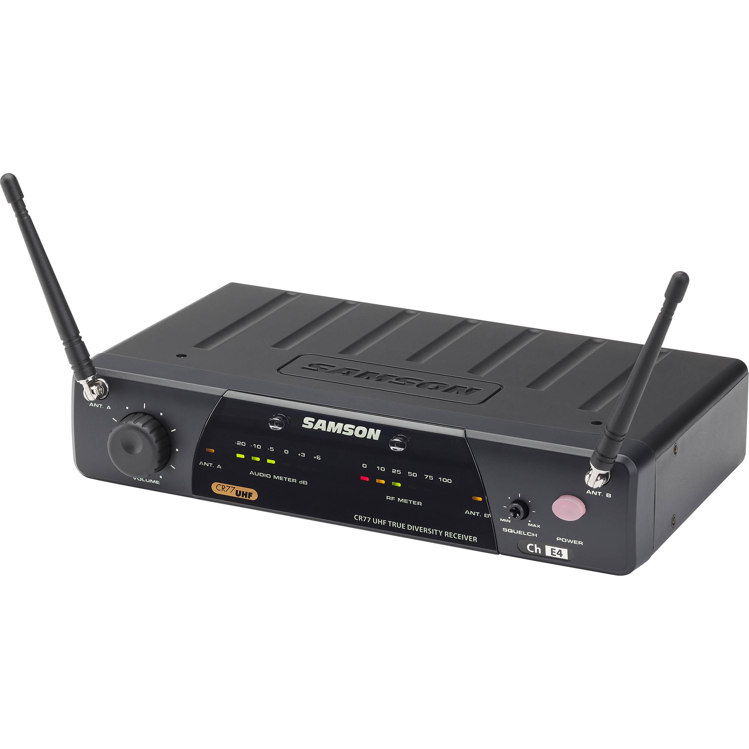Samson AirLine 77 Wireless AH7-Qe Fitness Pilates Headset Microphone System-K2