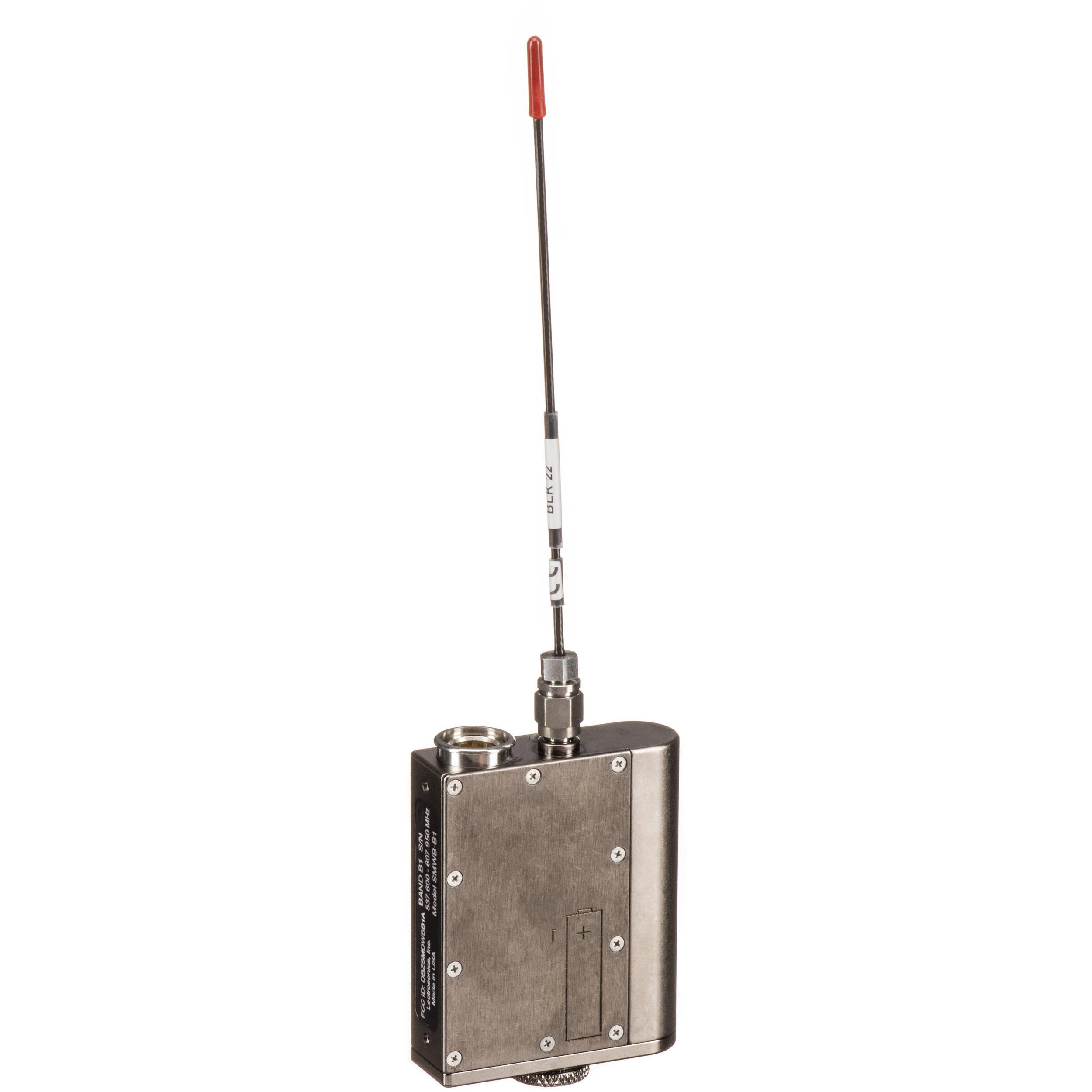 Lectrosonics SMWB Wideband Beltpack Transmitter/Recorder (B1: 537 to 607  MHz)