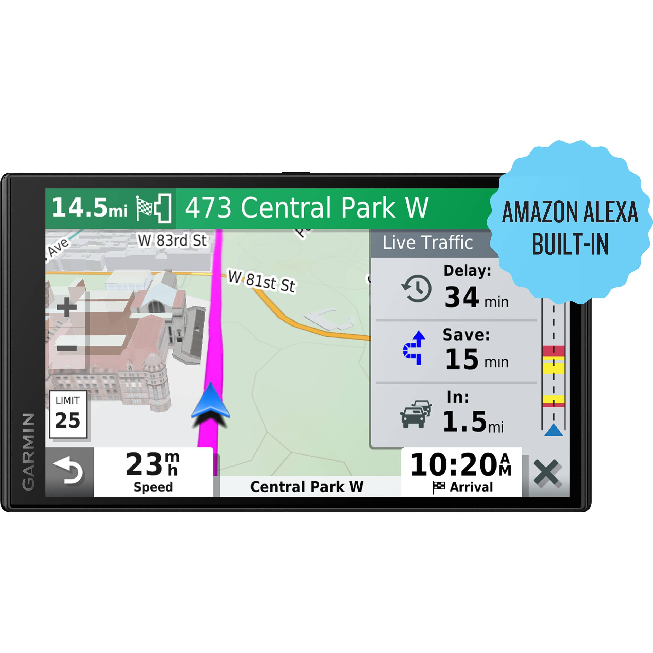 Garmin DriveSmart 65 Navigator with Amazon Alexa