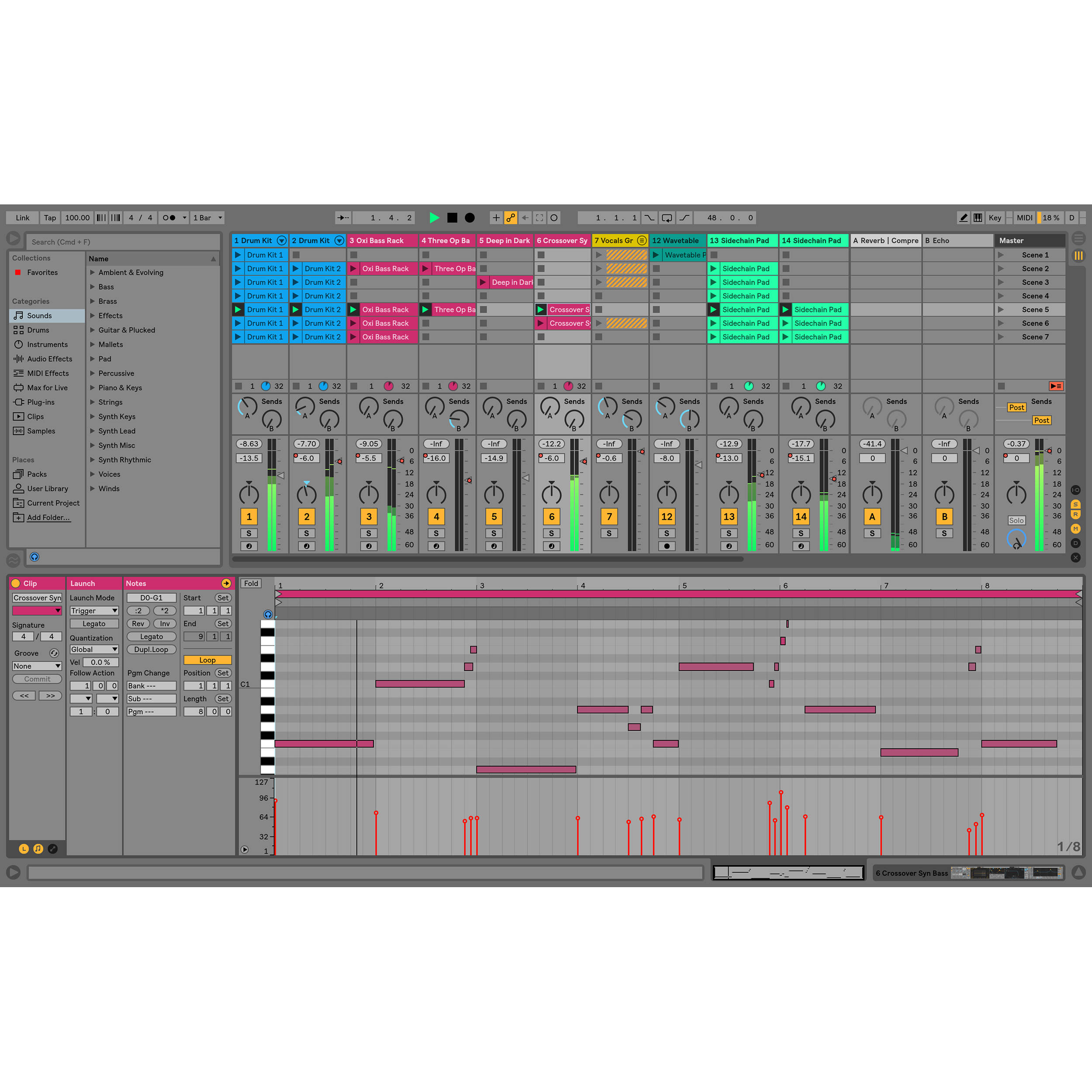 Ableton Live 10 Suite Upgrade - Music Production Software (Educational  Institution 10 to 24 Licences, Download)