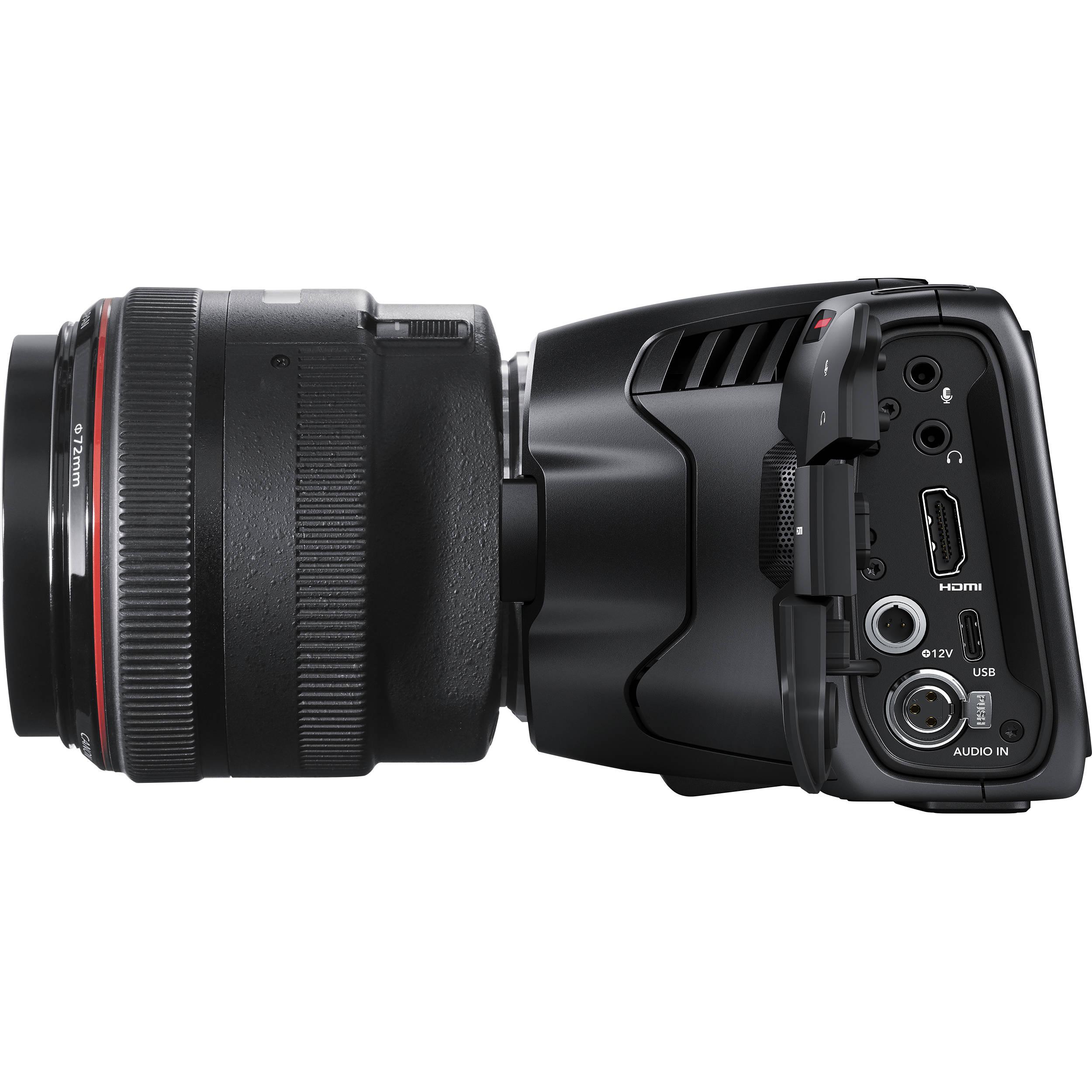 Blackmagic Design Pocket Cinema Camera 6k Cinecampochdef6k B H
