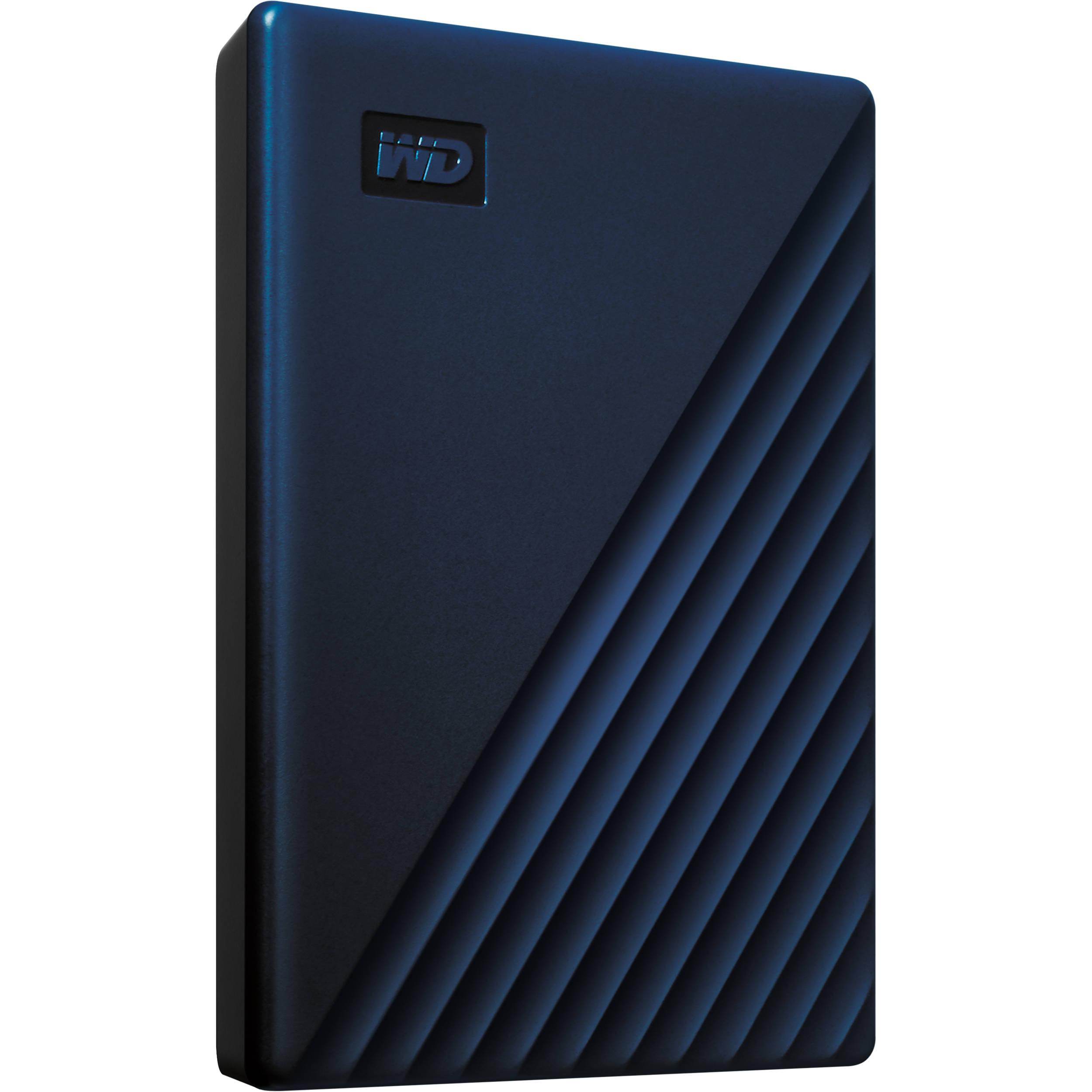 WD 2TB My Passport for Mac USB 3 0 External Hard Drive (Midnight Blue)