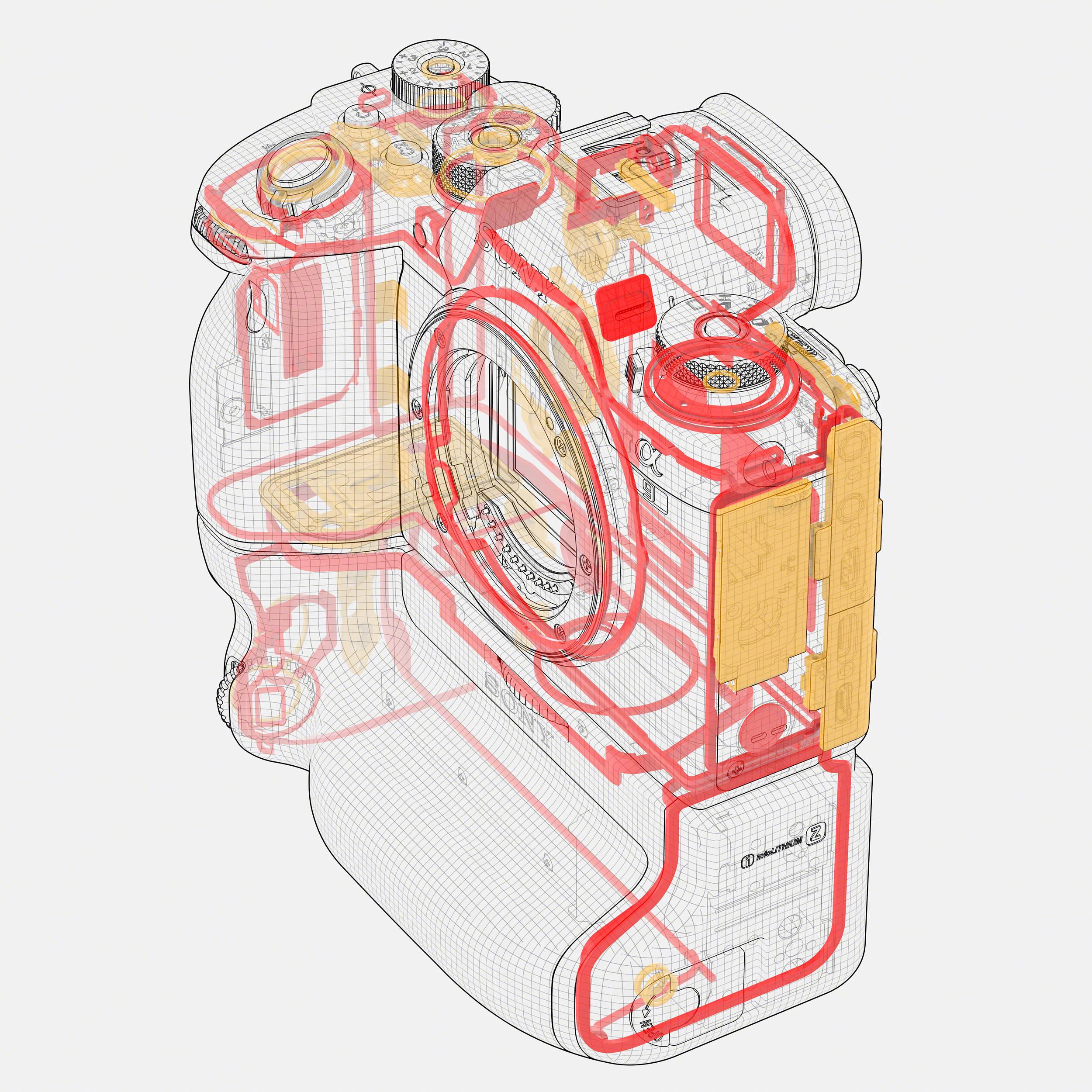Sony Alpha A9 Ii Mirrorless Digital Camera A9ii Body Ilce9m2 B