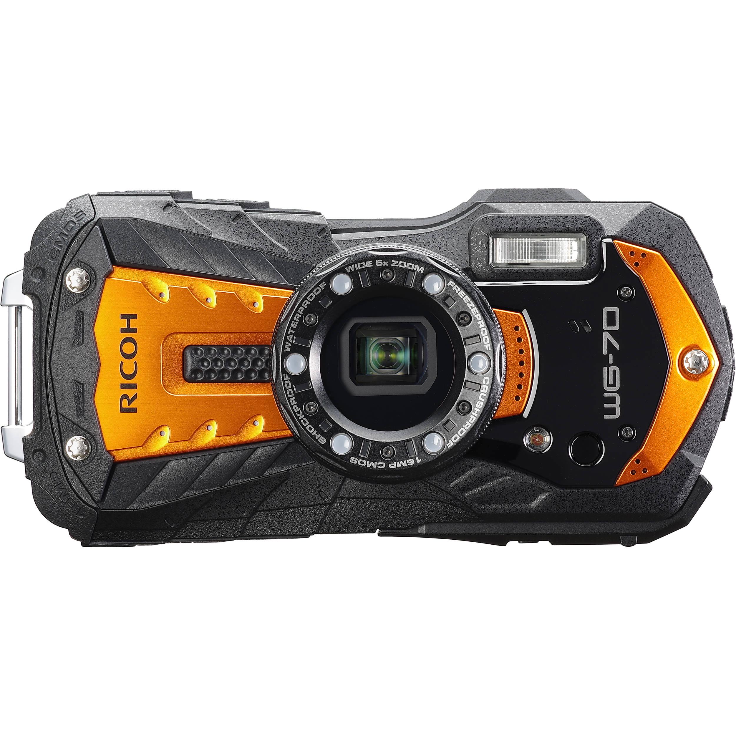 Floating Wrist Strap for Digital Cameras Bright Orange for High Visiablity x 2