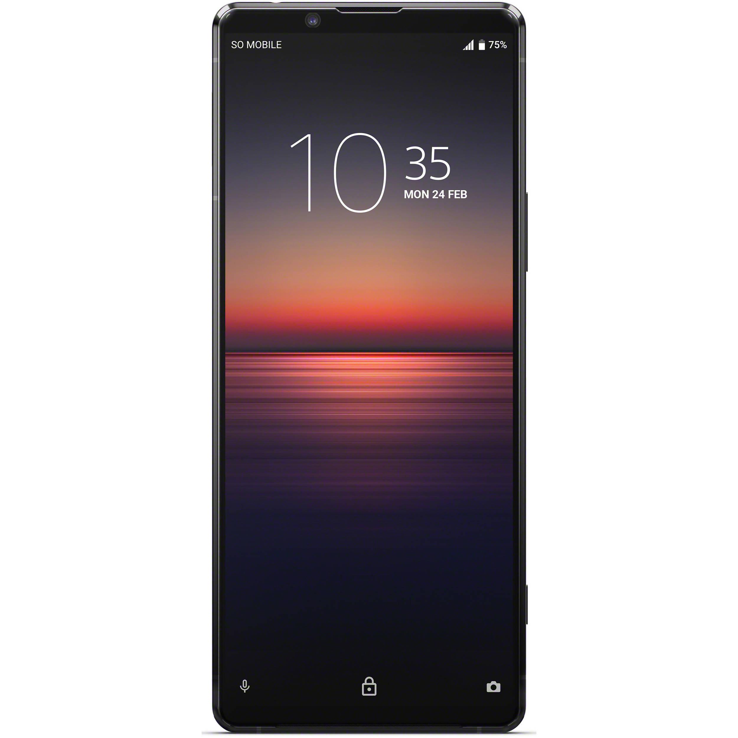 Sony Xperia 1 Ii 256gb Smartphone Unlocked Xqat51 B B H Photo
