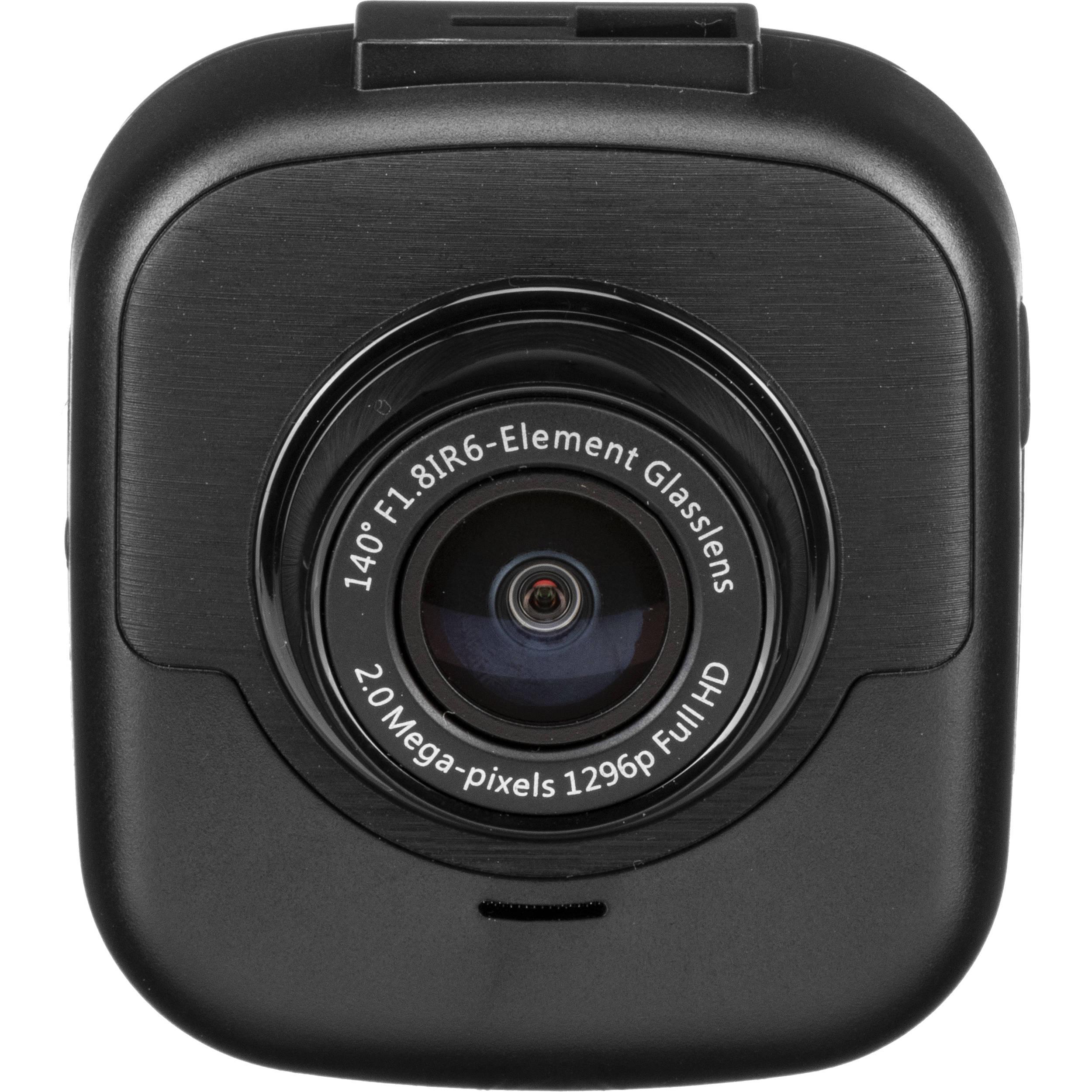 myGEKOgear Geko Orbit 530 1296p SHD Sony Sensor Dash Cam with Built-in Wi-Fi Night Vision and 16GB Micro SD Card