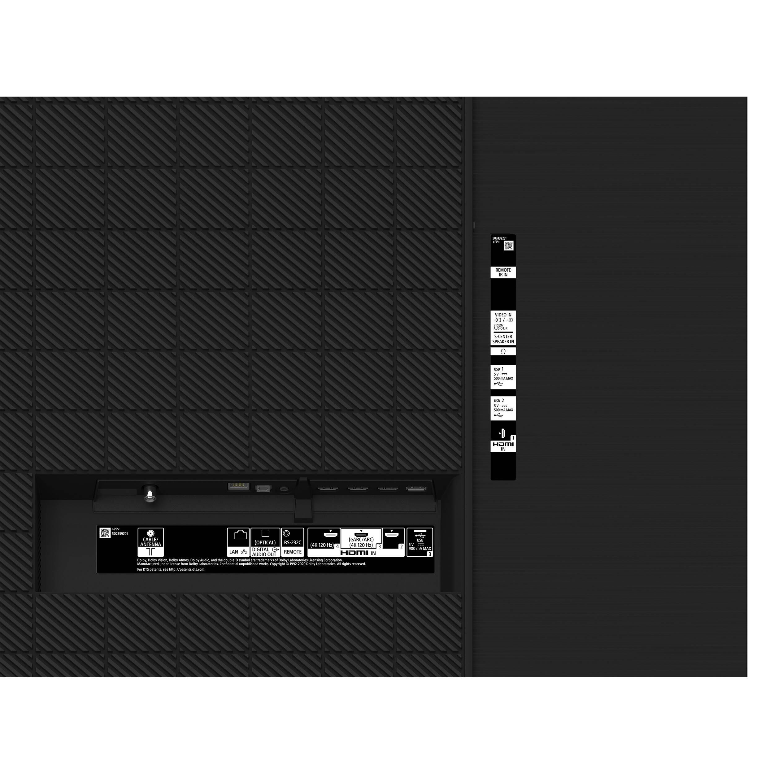 """Sony BRAVIA XR Series A80J 77"""" Class HDR 4K UHD Smart XR77A80J"""