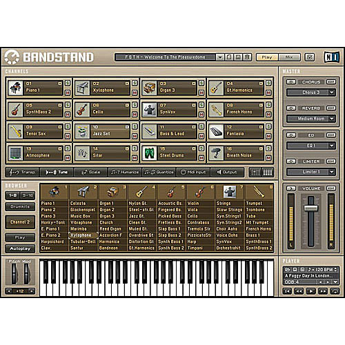 Native Instruments BANDSTAND - Software General MIDI Module - Educational  Discount