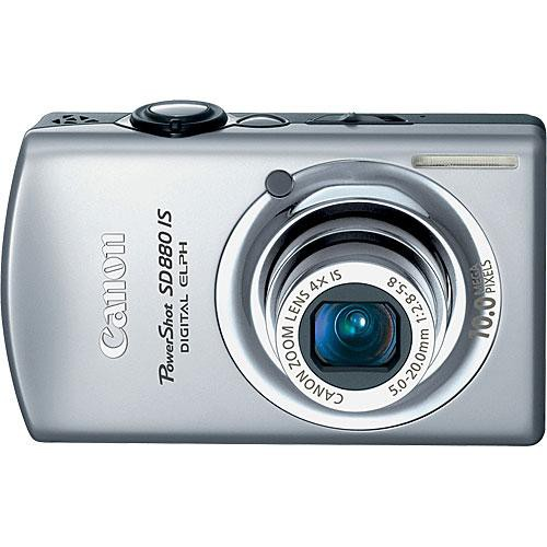 canon powershot sd880 is software