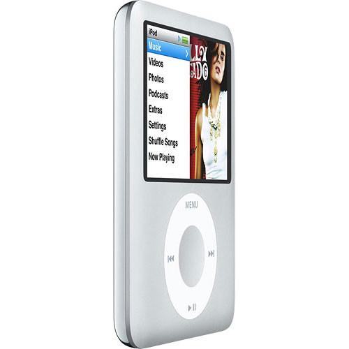 B&H Photo Video - Apple Ipod Nano 3rd Gen 8gb (Silver) Ma980ll/a