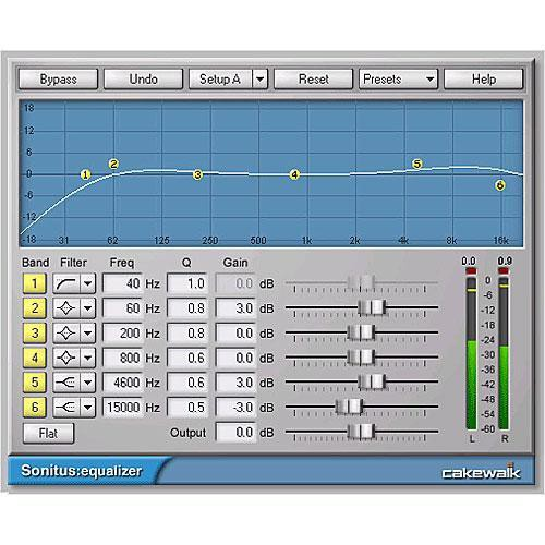 Cakewalk SONAR Home Studio 7 XL - Music Production Software - Educational  Discount