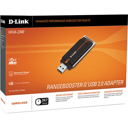 DOWNLOAD DRIVERS: D-LINK USB WIRELESS ADAPTER WUA-2340