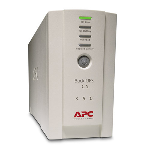 CS 350 APC BK350 Back-UPS System