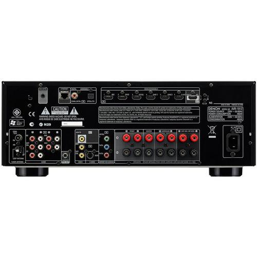 Denon AVR-1912 7 1-Channel Network Streaming AV Receiver
