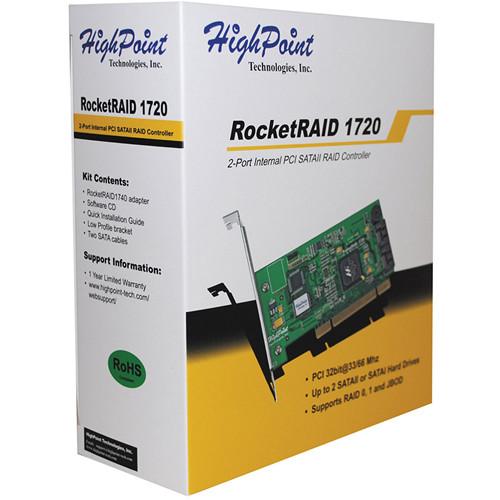 HIGHPOINT ROCKETRAID 1720 DRIVER UPDATE