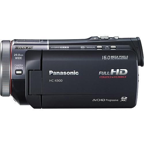 Panasonic HC-X900K Camcorder External Microphone