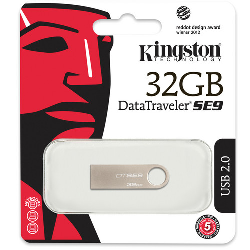 Unidad flash USB DataTraveler SE9 Kingston de 32 GB