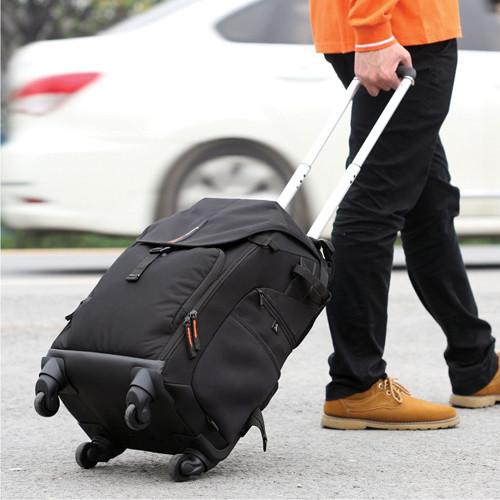 Vanguard The Heralder 51T Rolling Backpack (Black)