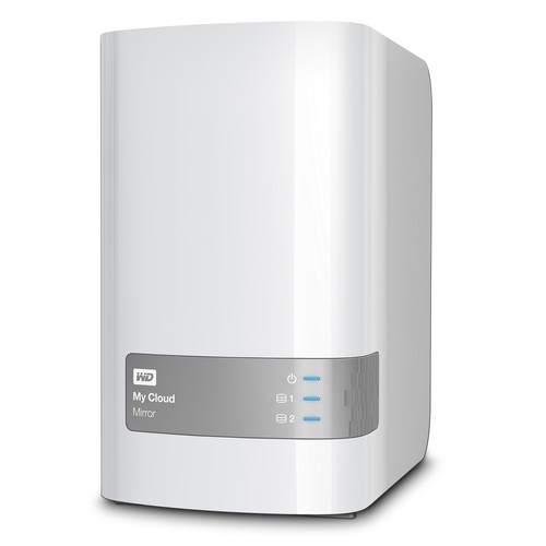WD 12TB My Cloud Mirror Personal Network Attached Storage for NAS Server