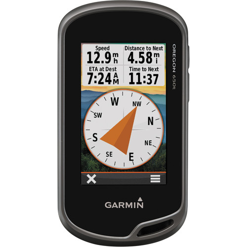 "Garmin Oregon 650t 3"" Handheld GPS"