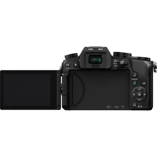 Panasonic Lumix DMC-G7 Camera with 14-140mm Lens (Rear View)