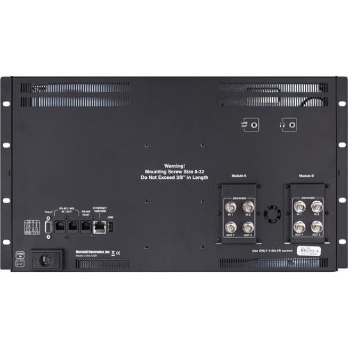 "Marshall Electronics QVW-1708-3G 17"" Quad View Monitor"