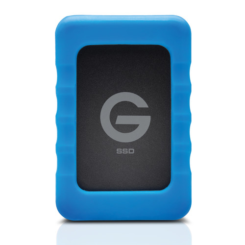 G-Technology 0G04755 500GB USB 3.0 External Solid State Drive with Rugged Bumper