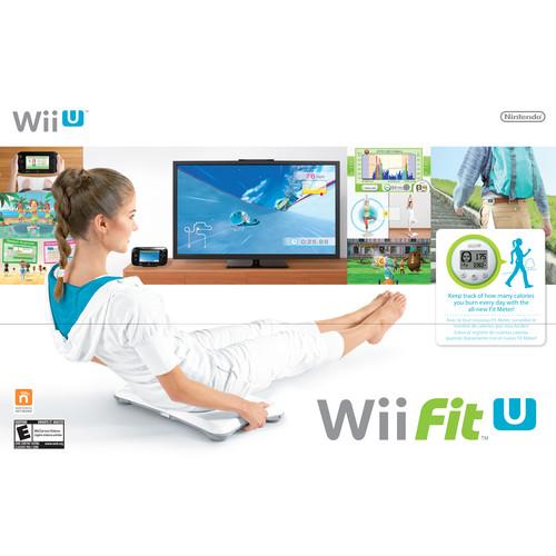 [추가금없음]닌텐도 핏 Nintendo Wii Fit U Bundle with Balance Board & Fit Meter (Wii U)         WUPRASTE
