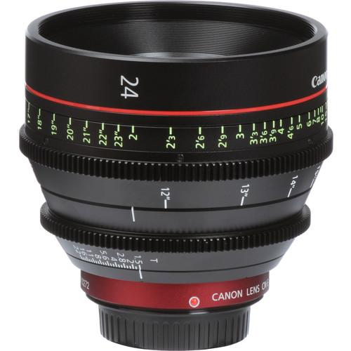 Canon CN-E 24 mm T1.5 LF Cinema Prime Lens (montura EF)