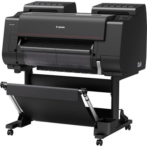 "Canon imagePROGRAF PRO-2000 24"" Professional Photographic Large-Format Inkjet Printer"