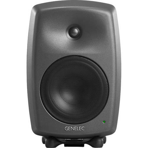 "Genelec 8340A 300W 6.5"" Active 2-Way DSP Monitor Speaker (Dark Gray)"