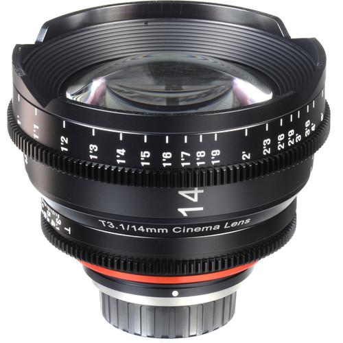 Rokinon Xeen 14mm T3.1 Lens para Sony-E Mount