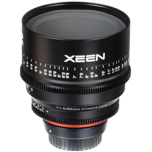 Rokinon Xeen 85mm T1.5 Lens para Canon EF Mount