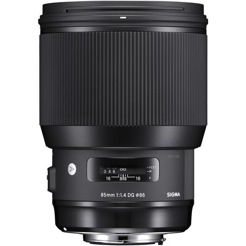 Sigma 85mm f/1.4 DG HSM Art Lens at B&H