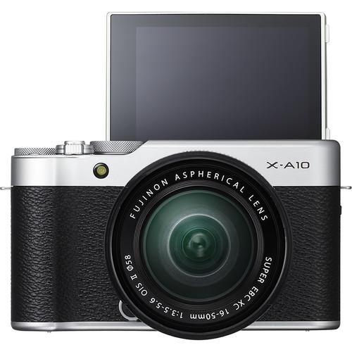 Fujifilm X-A10 Mirrorless Digital Camera with 16-50mm Lens