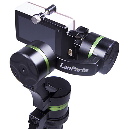 Detachable Mountable Wired-Control LanParte LA3D 3-Axis Handheld Gimbal for GoPros and Action Cameras