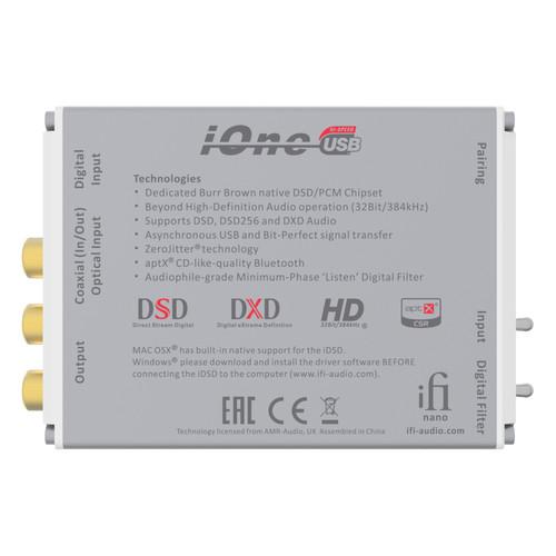 iFi AUDIO Nano iOne DAC for Home Entertainment Systems