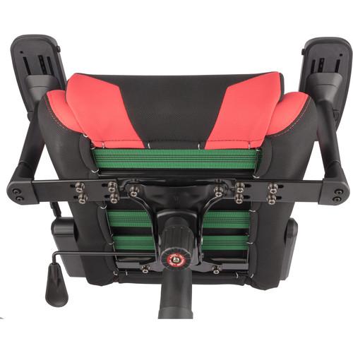 Stupendous Spieltek Berserker Gaming Chair V2 Fabric Red Pdpeps Interior Chair Design Pdpepsorg