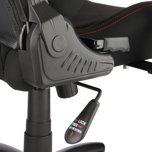 Tremendous Spieltek Berserker Gaming Chair V2 Fabric Red Pdpeps Interior Chair Design Pdpepsorg
