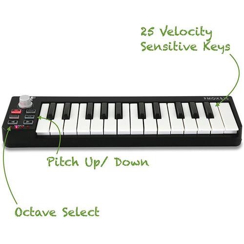 PMIDIKB10 Compact MIDI Keyboard