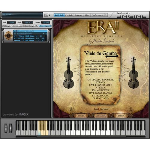 Era II: Medieval Legends Upgrade - Virtual Instrument (Download)