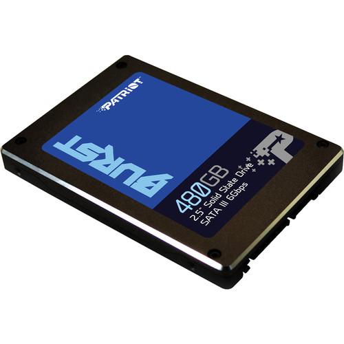 "Patriot 480GB Burst SATA III 2.5 ""SSD interno"