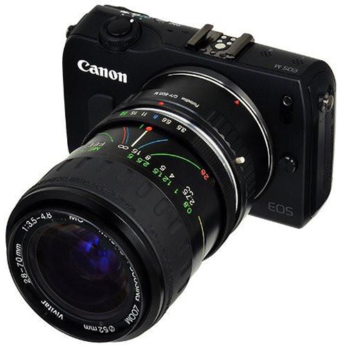 EF, EF-S Mount D//SLR Camera Body CY with Gen10 Focus Confirmation Chip Fotodiox Lens Mount Adapter Compatible with Contax//Yashica SLR Lens to Canon EOS