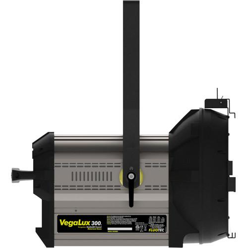 "Fluotec VegaLux 300 Tungsteno 10 ""StudioLED Fresnel con soporte de montaje Yugo"
