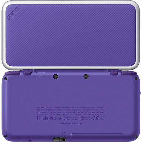 Nintendo 2DS XL Mario Kart 7 Bundle (Purple + Silver)