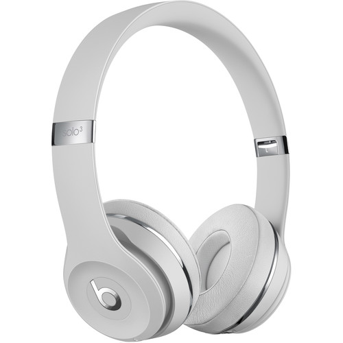 Beats by Dr. Dre Beats Solo3 Wireless On-Ear Headphones (Satin Silver / Icon)