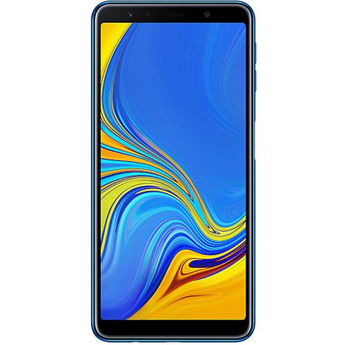 Samsung Galaxy A7 (2018) SM-A750 Dual-SIM 64GB Smartphone (Unlocked, Blue)