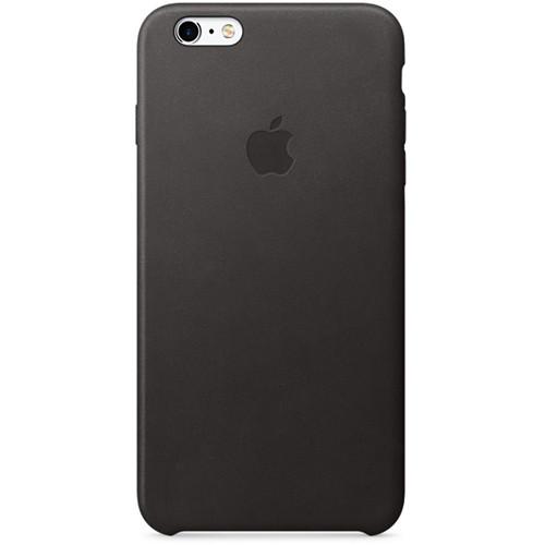 best website bc337 d1365 Apple iPhone 6 Plus/6s Plus Leather Case (Black)